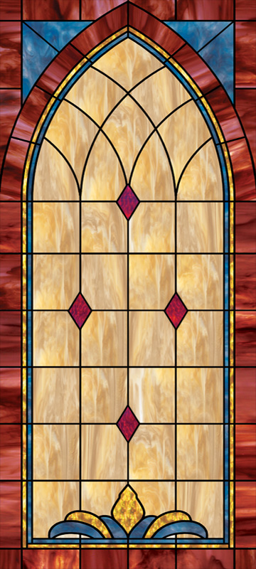 Religious Window Film For Churches And Home Illuminado