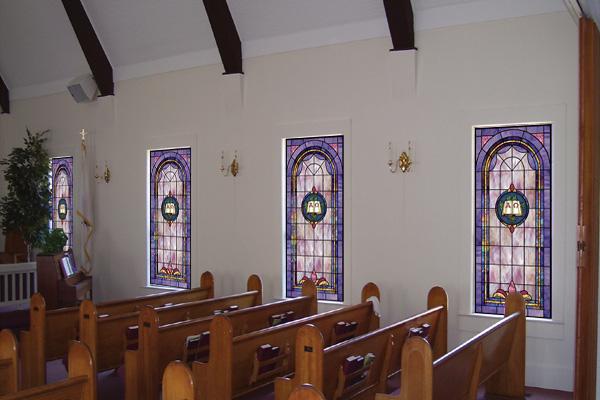 Religious Window Film For Churches And Home Illuminado