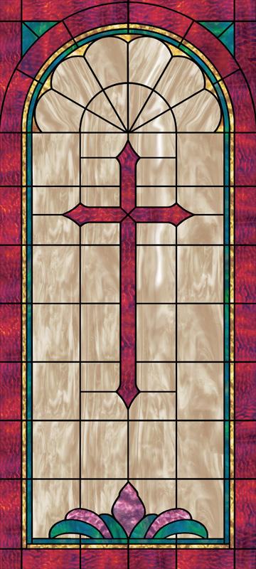 Scripture Church Window Film Design IN4