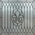 home decorative stained glass window film IH-1