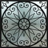 home decorative stained glass window film IH-6
