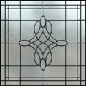 residential stained glass window film IH-2