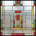 home decorative stained glass film IH-21