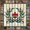 home decorative stained glass film IH-22