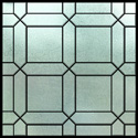 home decorative stained glass cling IH-3